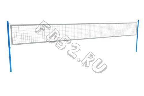 Комплект волейбольных стоек (без сетки)  3000Х76