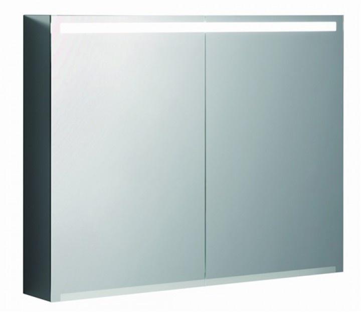 Зеркало-шкаф с подсветкой 90 см Keramag Option (801490000)