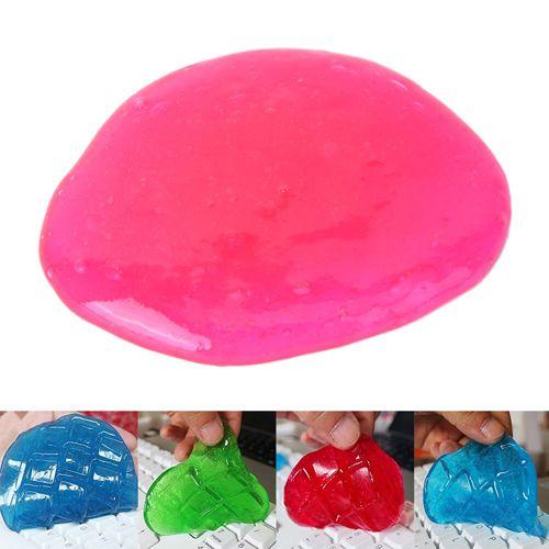 Гелевая губка Super Clean розовая.