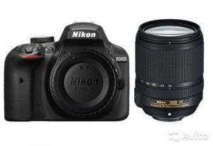Nikon D3400 Kit 18-140mm VR