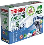 Tri-Bio Натуральные эко таблетки для стирки 20 таблеток