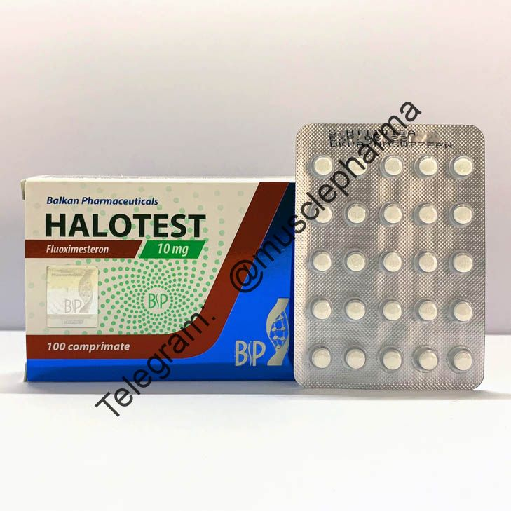 Halotest (fluoxymesterone). 20 таб. по 10 мг.