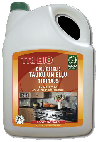 Tri-Bio Биосредство для удаления жира и масел 4,4 л