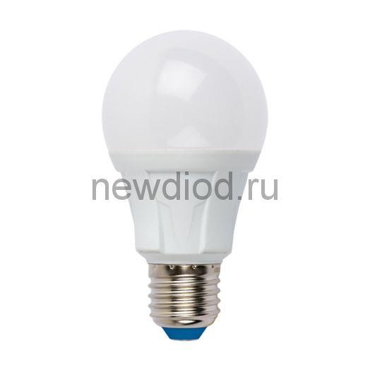 Лампа светодиодная LED-A60 8W/WW/E27/FR 3000K яркая Uniel