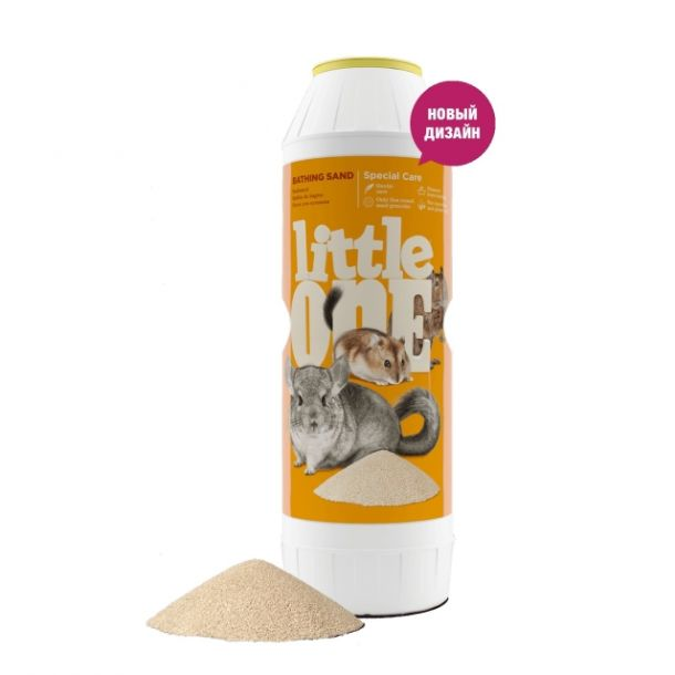Песок LITTLE ONE для шиншилл, 1 кг