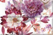 Composicion Savage Flowers Berenjena 02
