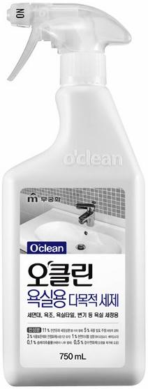 """Натуральное экологически безопасное многоцелевое чистящее средство д/ванны Mukunghwa """"O'clean"""""""