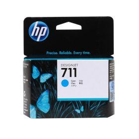 Картридж HP 711 Cyan голубой оригинальный CZ130A