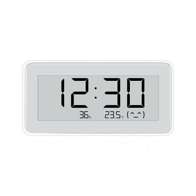 Часы-гигрометр Xiaomi Mijia BT4.0 Wireless Smart Electric Digital Clock