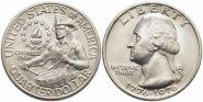 25¢ центов США Барабанщик 1976, UNC