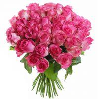 Букет розовых роз 40 см