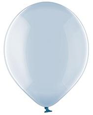 Хрустальный Голубой шар латексный с гелием