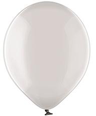 Хрустальный Серый шар латексный с гелием