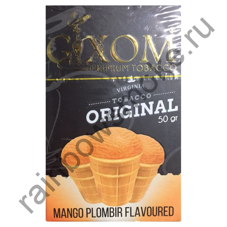 Gixom Original series 50 гр - Mango Plombir (Пломбир с Манго)