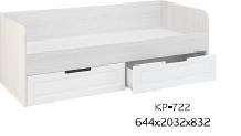 КР-722  Кровать с ящиками (ПРАГА)