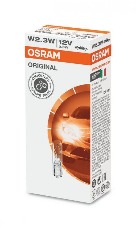 Лампа 12V W2,3W 2723 OSRAM