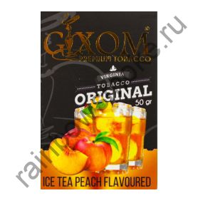 Gixom Original series 50 гр - Ice Tea Peach (Персиковый Холодный Чай)
