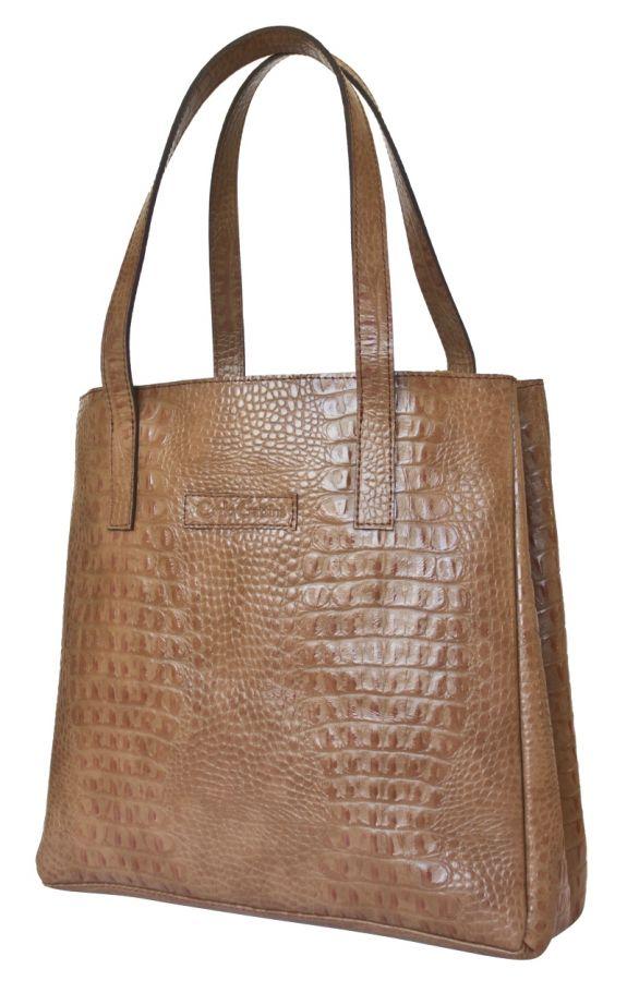 Кожаная женская сумка Carlo Gattini - Vietto biege