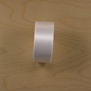 `Атласная лента, ширина 38-40 мм, цвет белый, Р-АЛ9180-01
