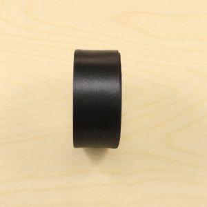 `Атласная лента, ширина 38-40 мм, цвет черный, Р-АЛ9180-39
