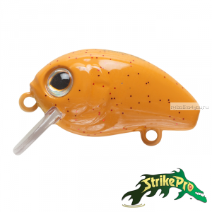 Воблер Strike Pro Baby Pro 25F EG-036F 25 мм / 2 гр / Заглубление: 0,1 - 0,2 м / цвет: 125F