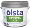 Краска Инновационная Olsta Crystal Air 9л Очищение от Формальдегида Матовая / Ольста Кристал Эир