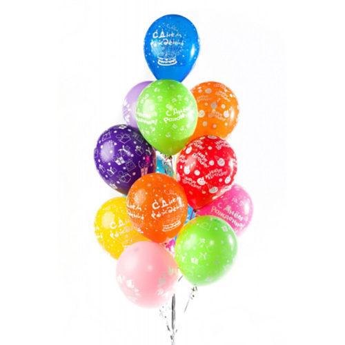 15 гелиевых шаров