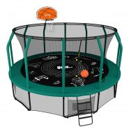 Батут Unix line Supreme Game 12 ft + Basketball 610