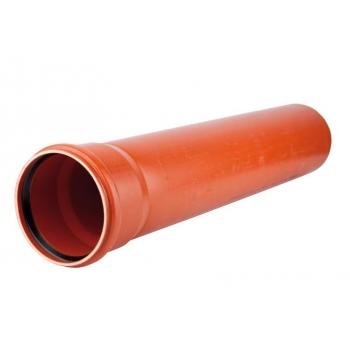 Труба гладкая d500х12,3х6160 НПВХ наружная канализация Хемкор