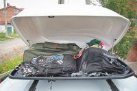 Автомобильный бокс на крышу Lite, 250 литров, черный матовый