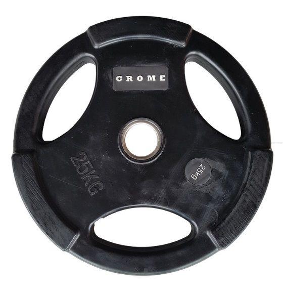 Диск GROME WP074 BLACK-25 кг