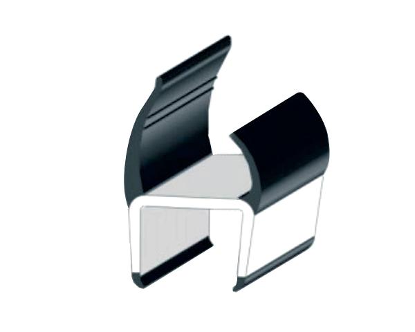Уплотнитель резинопластиковый 40 мм - 3 м (Арт.: 183240)