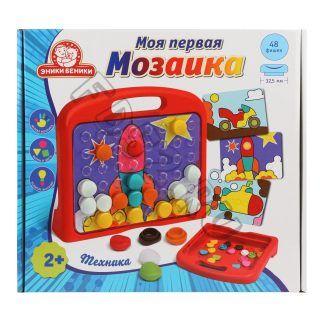 Мозаика в чемоданчике Моя первая мозаика Техника
