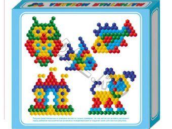 Мозаика магнитная шестигранная 20/5цв/ 175шт 103184