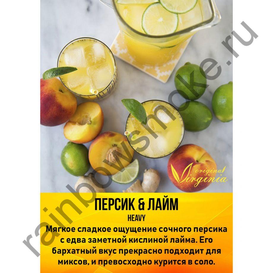 Original Virginia Heavy 50 гр - Персик & Лайм