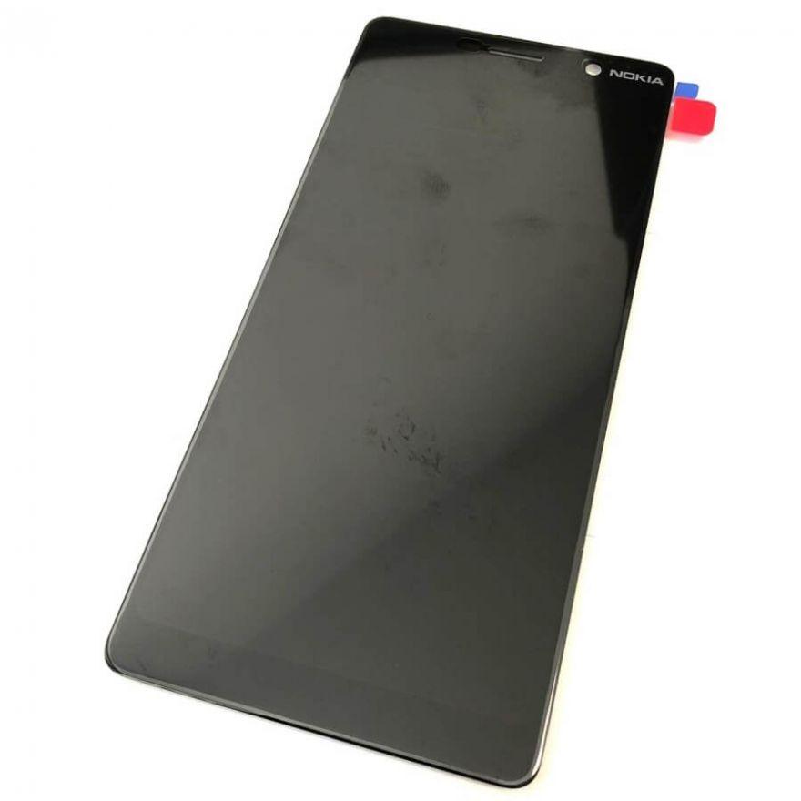 Дисплей в сборе с сенсорным стеклом для Nokia 7 Plus (TA-1046, 1055, 1062)