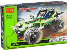 Конструктор Decool автомобиль Багги DESERT с инерционным механизмом 3414 (Аналог LEGO 42027) 148 дет