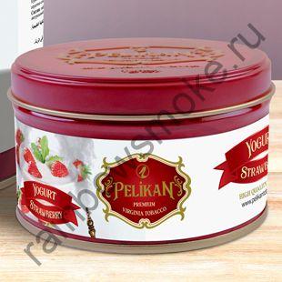 Pelikan 200 гр - Yogurt Strawberry (Йогурт с Клубникой)