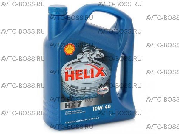 Моторное масло SHELL Helix HX7 10W-40  4 литра