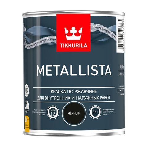 Metallista - Металлиста Краска по ржавчине для внутренних и наружных работ.