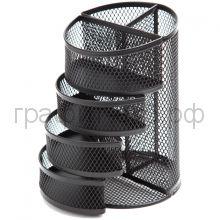 Поставка настольная Berlingo Steel&Style 6 секций металл черный BMs_41172