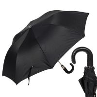 Зонт складной Pasotti Auto Classic Pelle Oxford Black