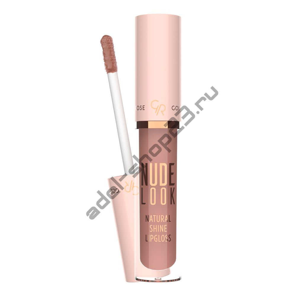 "Golden Rose - Блеск для губ ""Nude look natral shine lipgloss"""