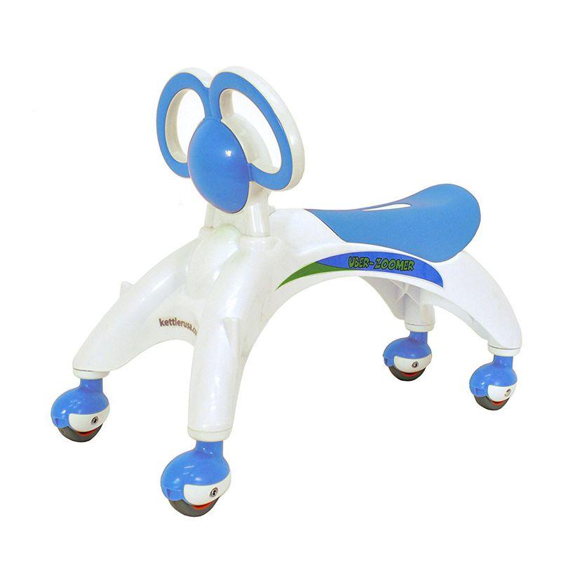 Беговел-каталка для малышей, цвет голубой