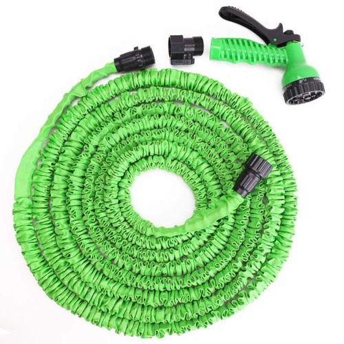 Поливочный шланг Xhose (Икс Хоуз) 60 м, зелёный.