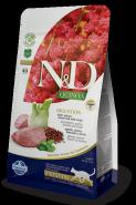 Farmina N&D Cat Quinoa Digestion Lamb Ягненок, киноа, фенхель и мята 300г