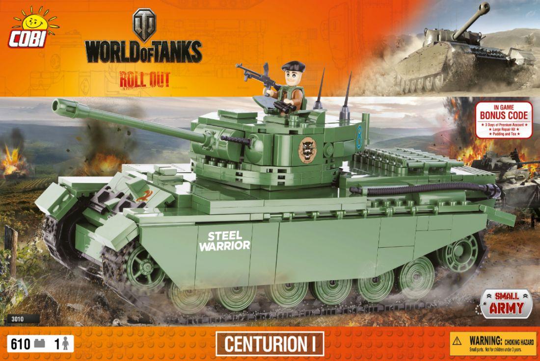 Конструктор COBI Танк Centurion I (Центурион 1) COBI-3010