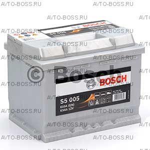 Автомобильный аккумулятор 0092S50050 Bosch S5005 (S5 005) 63 a/h обр 563400061 L2 63 Ач