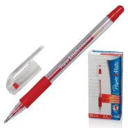 "Ручка гелевая PAPER MATE ""PM 300"", корпус прозрачный, толщина письма 0,7 мм, красная (арт. S0929370)"