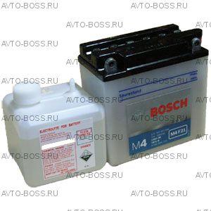 Аккумулятор мотоциклетный (мото) BOSCH MOBA 7a/h (M4 F21) 0092M4F210 12V 507 012 004 A504 (YB7L-B) (12N7-3B, YB7L-B) 7 Ач